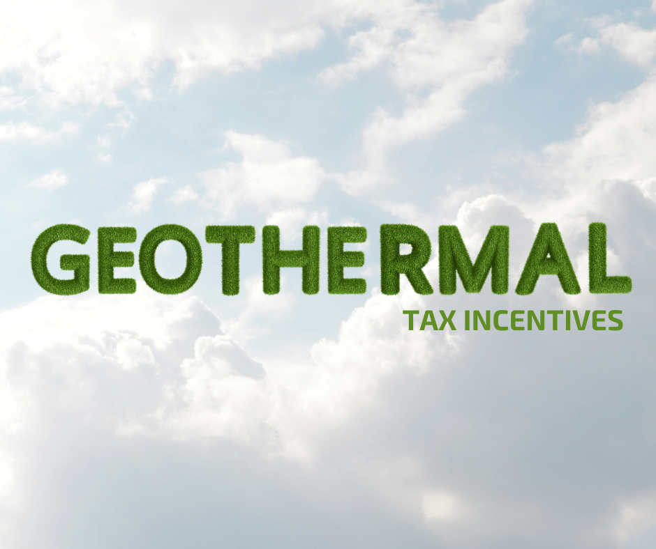 geothermal tax incentives