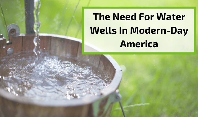 modern day water well